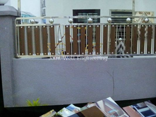 Stainless Steel  Mix Fence