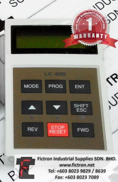 LC-200 IS5 LCD Keypad Repair Service in Malaysia