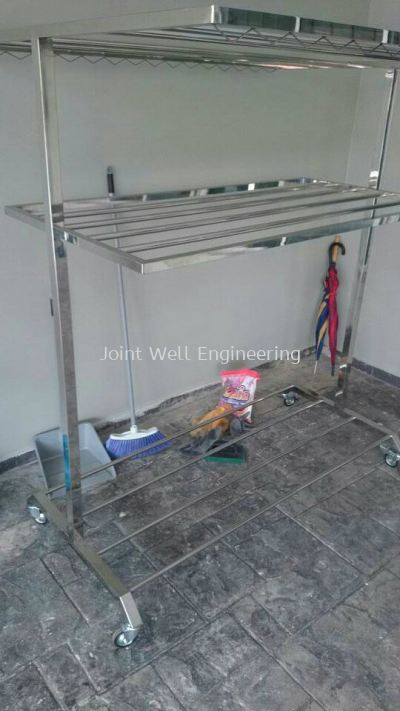Stainless Steel Clotheshorse / Clothes Hanger