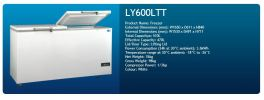 600L Chest Freezer With 2 Lifting Lid  Chest Freezer  Chiller and Freezer