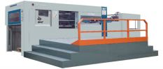 Die-cutting and Creasing Machine with Stripping Diecutting and Creating Machine Sales Machine