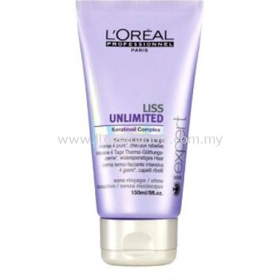 L'oreal Prof Serie Expert Liss Unlimted Leave-in Cream (150ml)