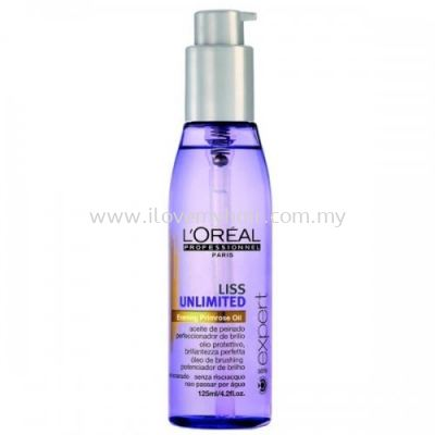 L'Oreal Prof. Serie Expert Liss Unlimited leave in oil(125ml)