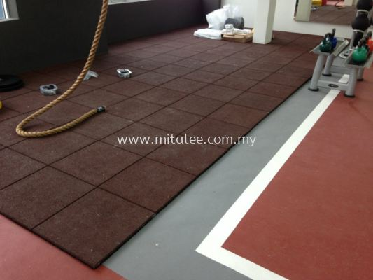 Rubber Tile 25mm
