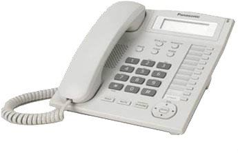 Panasonic Single Line Telephone KX-TS880MLW