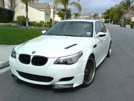 BMW E60 3D Style Front Lips