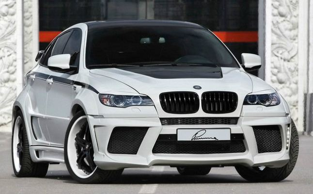 BMW X6 Lummar Design Bodykit
