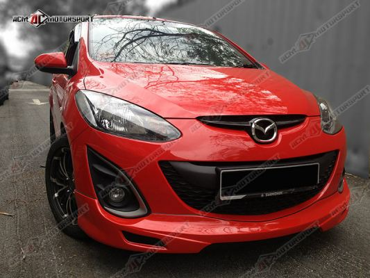 Mazda 2 Hatchback Facelift TH Style Bodykit