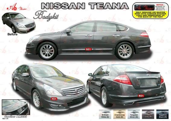 Nissan Teana J32 AM Style Bodyit