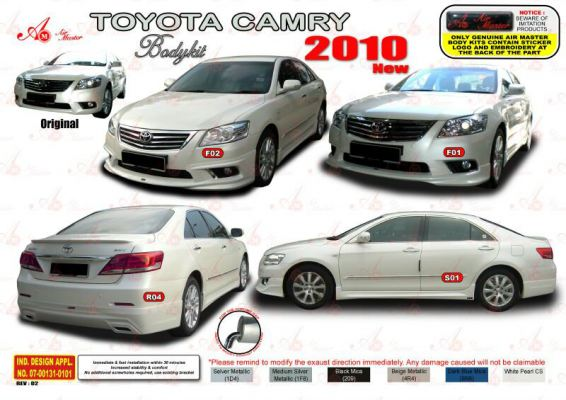 Toyota Camry 2010 AM Style Bodykit