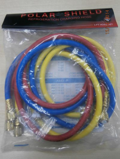 Master Tool RW-360-RYB-410A 5ft Charging Hose (3pcs/Set)