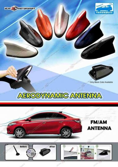 Toyota Vios 2007 Shark Fin Antenna with FM Receiver