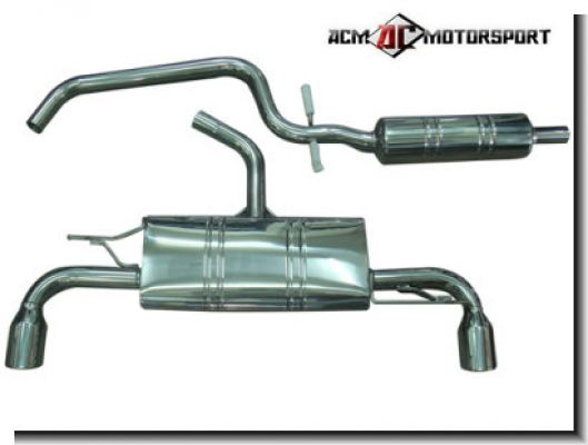 Volkswagen Golf GTi Rear Muffler