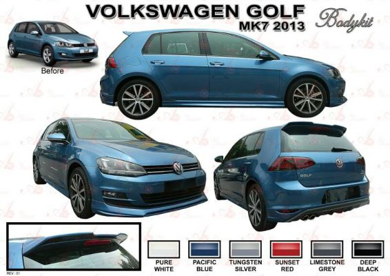 Volkswagen Golf Mark7 Bodykit AM Style