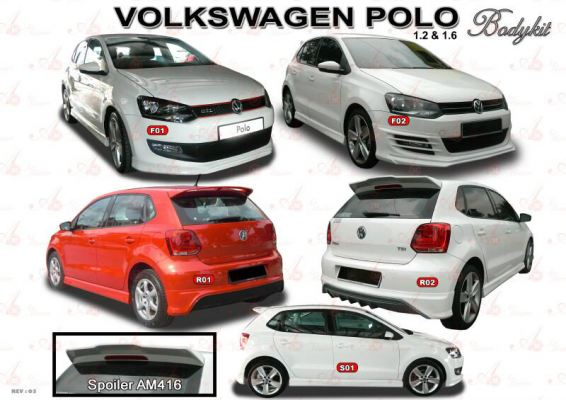 Volkswagen Polo AM Bodykit