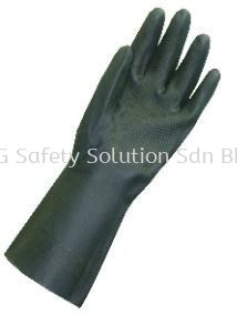 Neoprene - <NEOPLUS>NEO2813 heavy Duty Flocklined neoprene Gloves