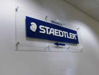 Arcylic Sign - Staedtler