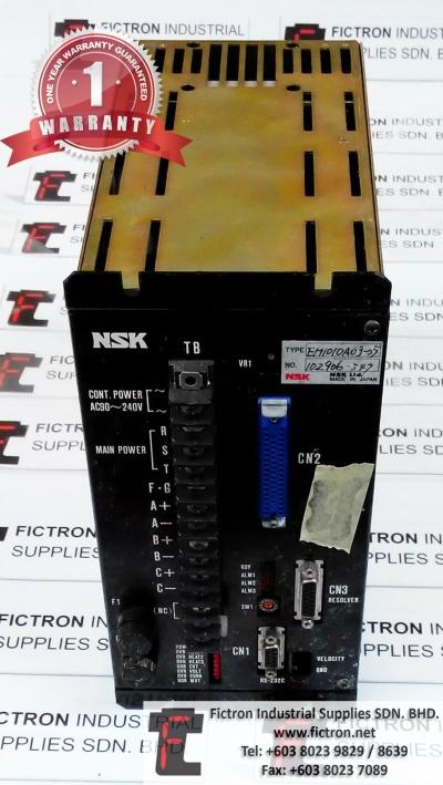 EM1010A03-05 NSK Drive Repair Service in Malaysia