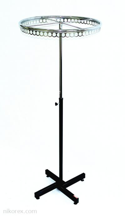 """400302 - RING STAND 24"""" (CHROME)"""