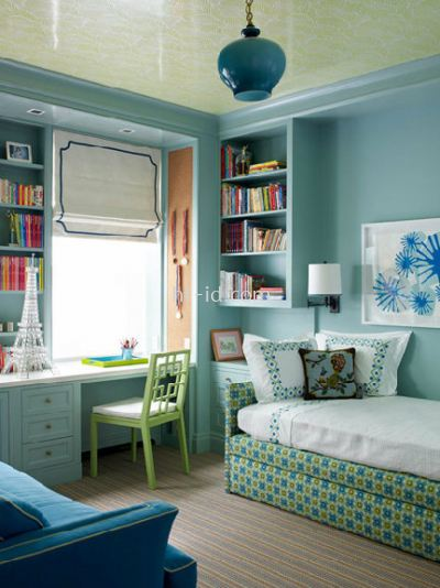 tiffany blue bedroom design