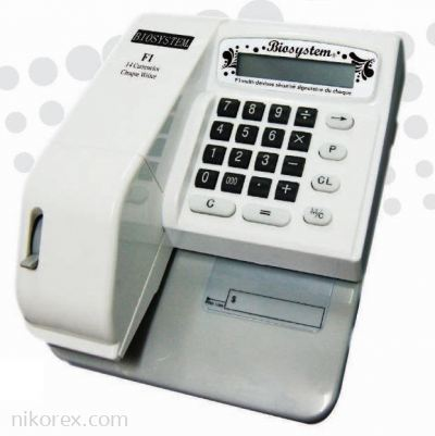 63114-Biosystem F1 Cheque Writer