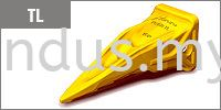 TL Futura DPR Caterpillar Teeth Bucket Teeth And Adapter