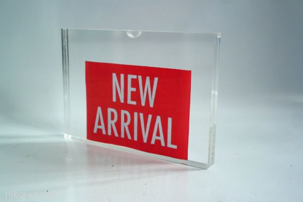 50688-ACRYLIC A5 HOLDER-20MM THK 214X152X20MM