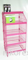 20389PN-TG1-PINK-DISPLAY STD-WIRE TYPE Floor Stand Custom Made