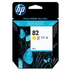 HP 82 - CH568A Yellow Ink