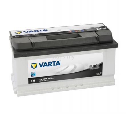 VARTA Battery Black Dynamic F5 (ETN588403074)