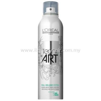Loreal Tecni.Art Full Volume Extra Mousse (250ml)New