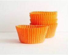 Orange Baking Cups