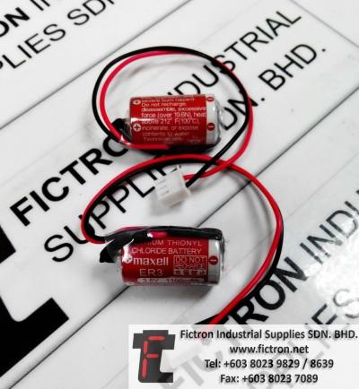 ER3 3.6V 1100mAh MAXELL Lithium Battery Supply Malaysia Singapore Thailand Europe & USA