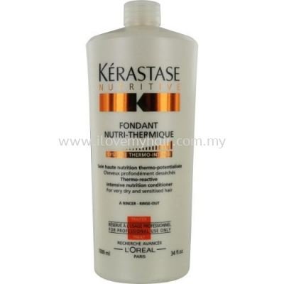 Kerastase Nutritive Fondant Nutri Thermique Conditioner(Thermo-Reactive Intensive Nutrition Conditioner Very Dry & Sensitised)1000ml