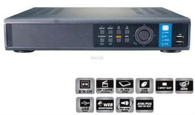 HDS4848E (16 Channel DVR)