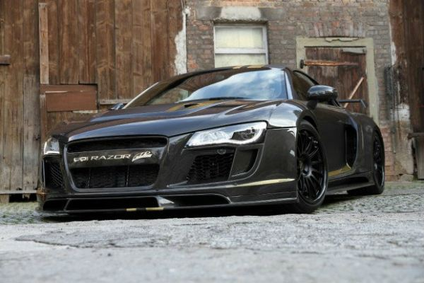 Audi R8 PPI Razor conversion bodykit
