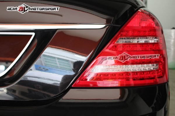 Mercedes benz W221 facelift tail light conversion