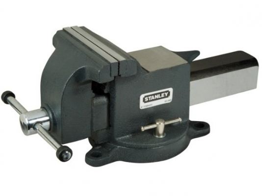 "Stanley 81-601-1 4"" Cast Steel Bench Vice"