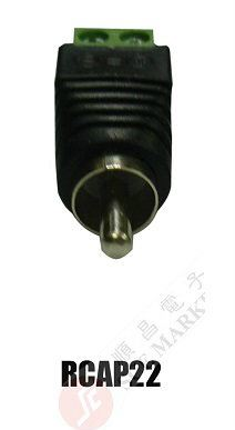 GREEN CONNECTOR RCAP22