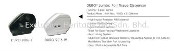 DURO 9016-W ROLL TISSUE DISPENSER PAPER TOWEL AND TISSUE DISPENSER