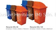 Recycle Ofin 50 Recycling Bins RECYCLE BINS