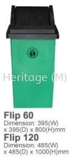 Flip 60 Recycle Bins RECYCLE BINS