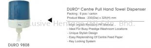 DURO 9808 PULL HAND TOWEL DISPENSER PAPER TOWEL AND TISSUE DISPENSER