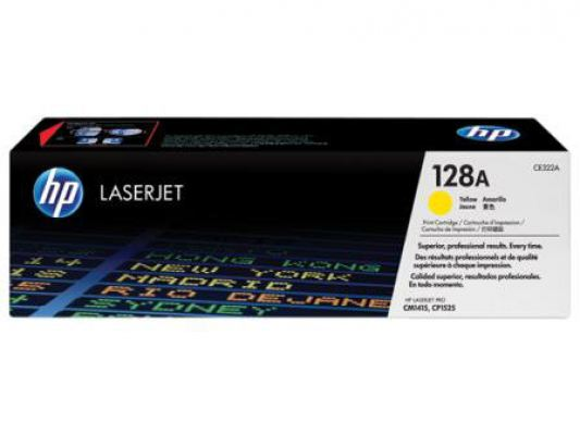 HP 128A - CE322A Yellow Toner