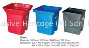 Drum 250L Recycle Bins RECYCLE BINS