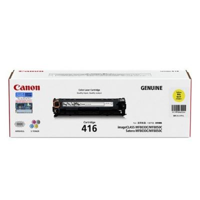 Canon CART 416 Yellow Toner