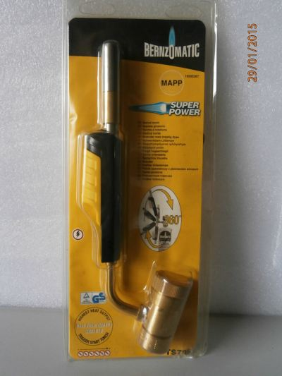 BERNZOMATIC TS799 SUPER POWER TORCH