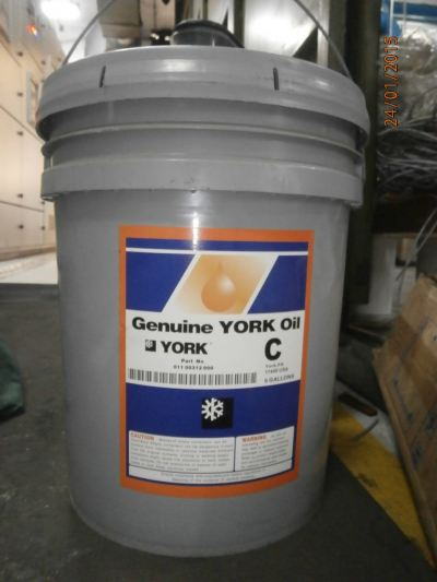 York Type C Lubricant Oil (US5 Gallon or 18.9L)