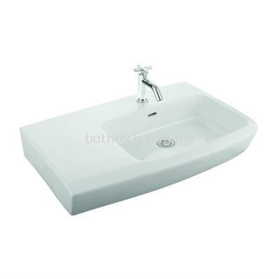 Lucca With Shelf Countertop Basin