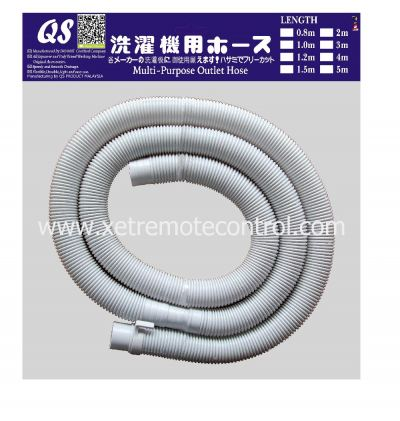 WM-DH20-40 ASIAN WASHING MACHINE DRAIN HOSE (2 meter x 48mm diameter)
